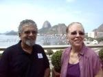 SSF/RIO: J.Lumier com sua colega Roser, de Barcelona