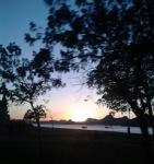 praia vespertina